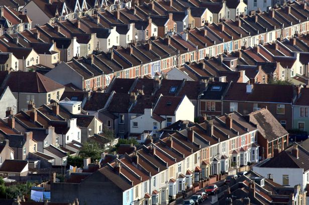Ariel View Council Housing