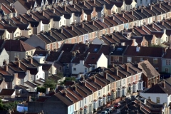 Ariel View Council Housing